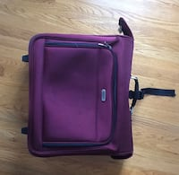 Purple and black luggage bag Great Falls, 22066