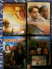 four assorted DVD movie cases Spokane Valley, 99037