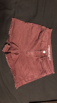 red American Eagle cut-off short shorts Gulf Shores, 36542