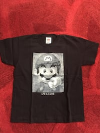 T Shirt Enfant Mario *Life Is A Game* Taille 5/6 ans Neuf   Freneuse, 78840
