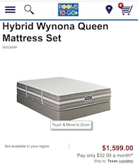 Queen Beautyrest Hybrid (Mattress Only) Denver, 80237
