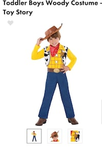 Woody Toddler Costume Toronto, M8Z 1K5