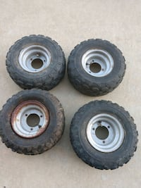 ATV wheels and tires 145/70-6 (Four)