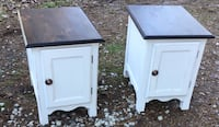 Matching end tables/ bedside tables . Chesapeake, 23322