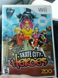 Skate city Heroes Wii game Chesapeake, 23321