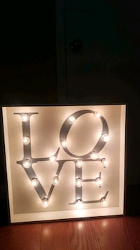 Marquee light up sign. Wall decor Mobile, 36695