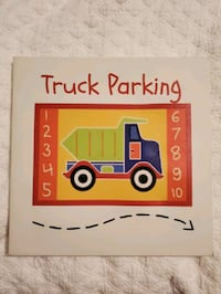 Canvas truck parking