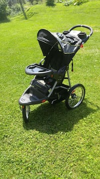 black and gray jogging stroller O'Fallon, 63366