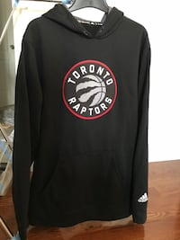 Toronto raptors pull over hoodie - size medium Georgetown, L7G 6C3