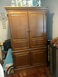 large armoire solid oak