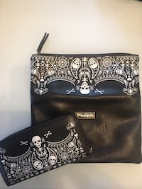 Lounge fly skull purse and wallet Edmonton, T5W 0Y6