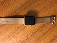 black Apple Watch with black sports band Falls Church, 22041