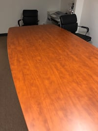 Large New Sturdy Wood Conference Table
