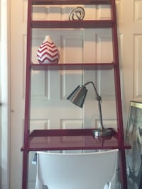 Crate & Barrel Leaning Desk/Shelves. Great Condition! Alexandria, 22315