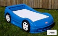 Toddler car bed little Tikes Toronto, M9C 5J5