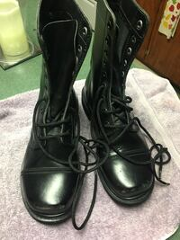 Military Black boots Greenville