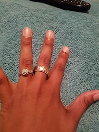 two silver-colored rings Decatur, 30034