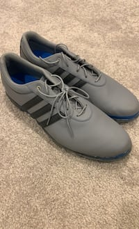 Adidas Golf Shoes Size 12 Men's. Grey Blue. Barely worn. Looks new.  Frederick, 21704