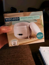 new w tag Wayland ultrasonic jewelry cleaner see description