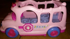 Fisher price little people school bus that makes s