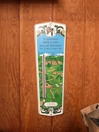 Vintage Thermometer  Beach City, 44608