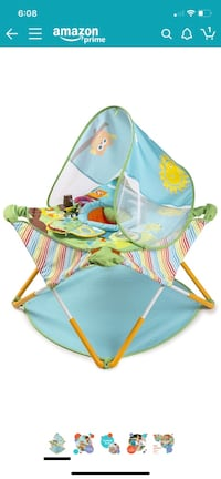Summer infant portable activity center and bouncer