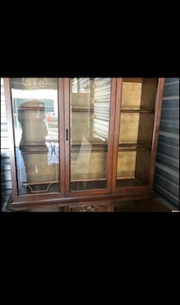 Brown Cherrywood glass China cabinet Robertsdale, 36567