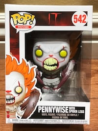 Funko Pop! IT Movie Pennywise With Spider Legs Non-Mint Buena Park, 90620