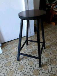 round brown wooden seat chair Lachute, J8H