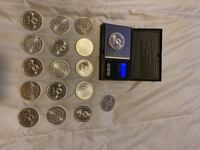 1oz Silver Rounds (17)