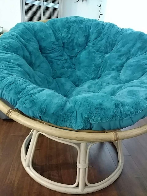Awe Inspiring Blue Papasan Chair Onthecornerstone Fun Painted Chair Ideas Images Onthecornerstoneorg