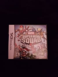 Marvel super heroes squad  Nintendo  ds game