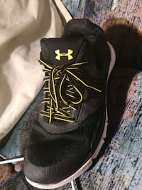 black-and-white Under Armour running shoes Winnipeg, R3B 3C3