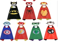 Brand New Super Hero Capes with Masks - $7 each Toronto, M9B 6C4