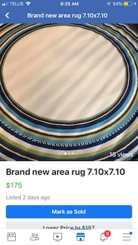 Brand new area rug 7.10 R  Mississauga