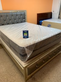 QUEEN SIZE MATTRESS.     + BRAND NEW STARTING FROM $190 WE DELIVERY