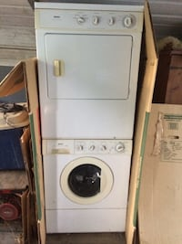 White electric washer and gas dryer Calhoun, 30701