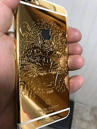 iPhone 6s 64 gb 24 kt gold