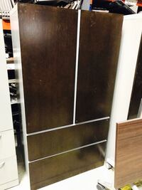 brown wooden armoire Fontana, 92337