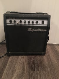 Spectrum electric guitar and amplifier