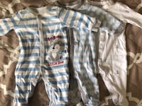 3 Baby boy PJ's | used several times | Good condition | Size: 0-3 months Silver Spring, 20906