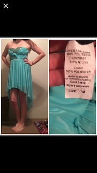 Teal/blue prom dress Conway, 29526