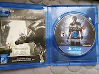 PS4 Uncharted 4 game disc Long Beach, 90805