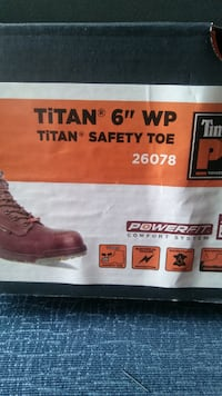 Brand new Timberland work boots steel toe 10.5