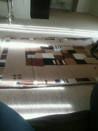 brown, black, and white area rug Temple Hills, 20748