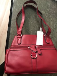 Beautiful dark red handbag brand new Vancouver, V5S 1K3
