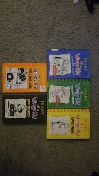 Diary of a Wimpy kid book  Peoria, 61614