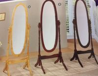 three assorted-color wooden framed cheval mirros Laurinburg