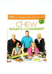 The Chew What's for Dinner? cookbook Queens, 11435