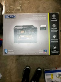 black and gray HP desktop printer box Centreville, 20121